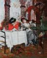 Lunch James Jacques Joseph Tissot 54x71cm USD220.JPG