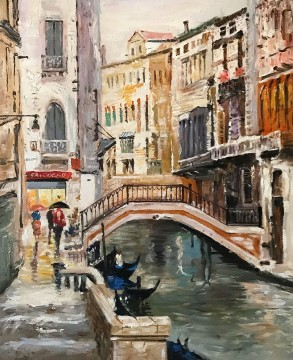 Inventa Werke - Venedig Kanal Thomas Kinkade 25x31 Zoll EURO199