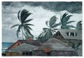 Hurrikan Bahamas Winslow Homer Aquarelle