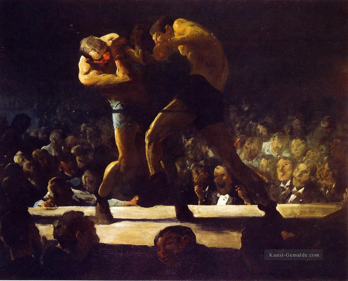 Club Night aka Stag Nacht bei Sharkeys Realist Ashcan Schule George Wesley Bellows Ölgemälde