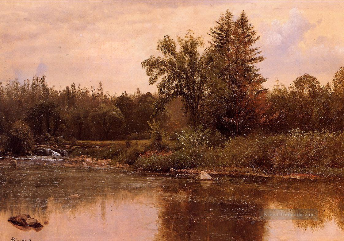 Landschaft New Hampshire Albert Bier Ölgemälde
