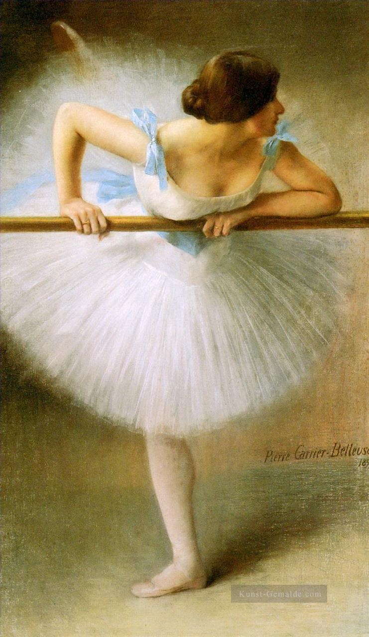 La Danseuse Ballett Tänzerin Carrier Belleuse Pierre Ölgemälde