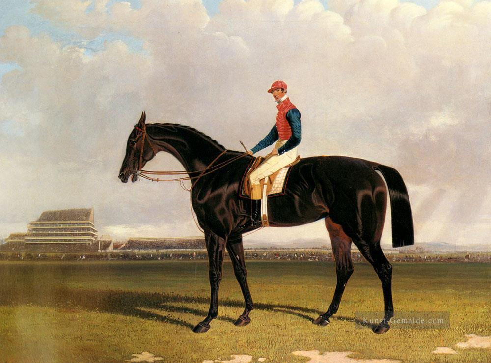 Herr Chesterfields Industrie mit William Scott Up At Epsom Herring Snr John Frederick Pferd Ölgemälde