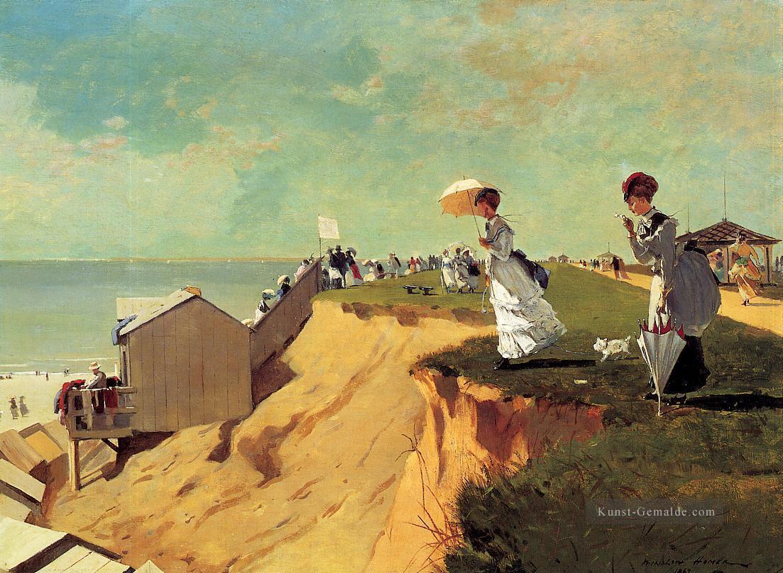 Landschaftsmalerei realismus  Long Branch New Jersey Realismus Marinemaler Winslow Homer Gemälde ...