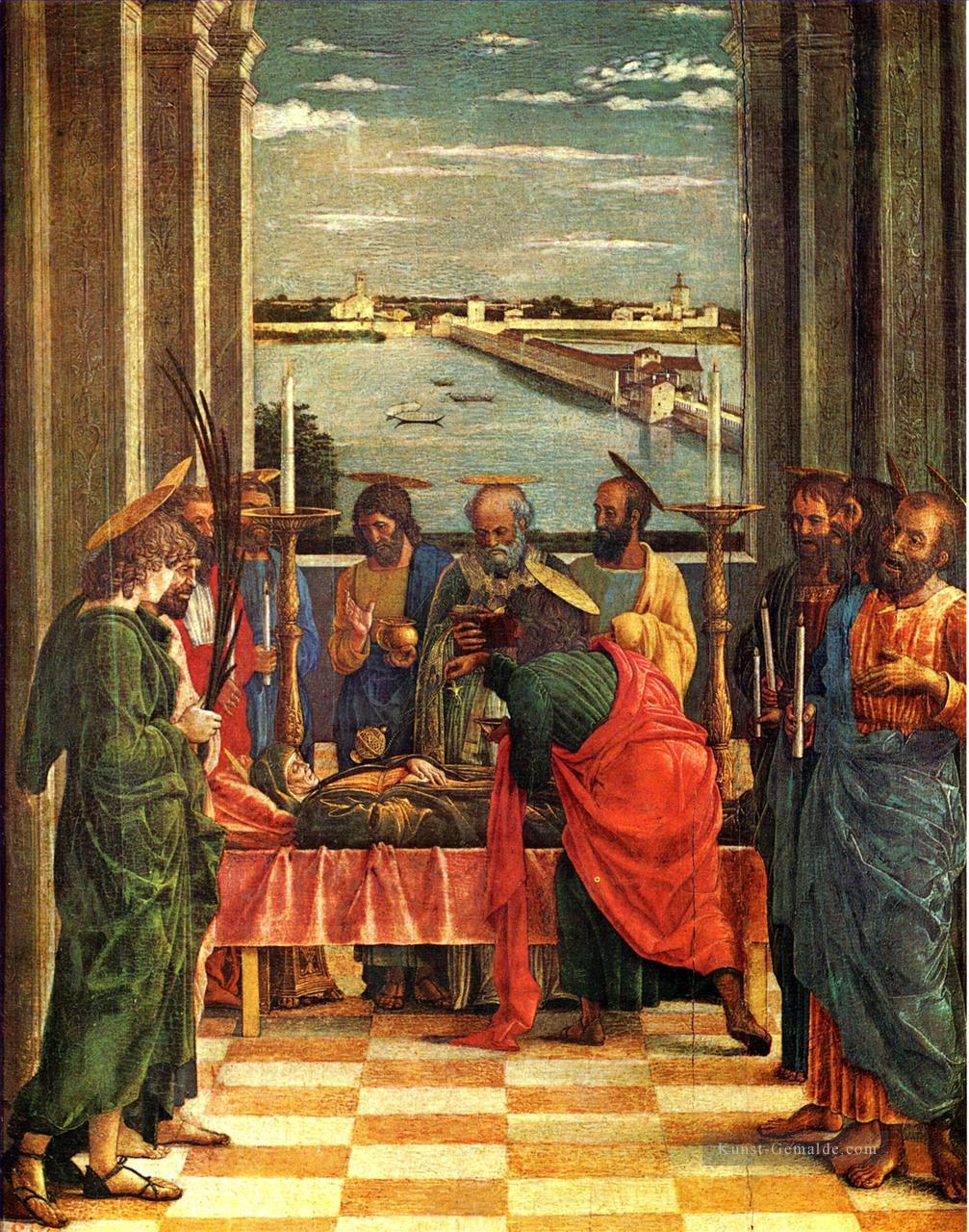 Todes der Jungfrau Renaissance Maler Andrea Mantegna