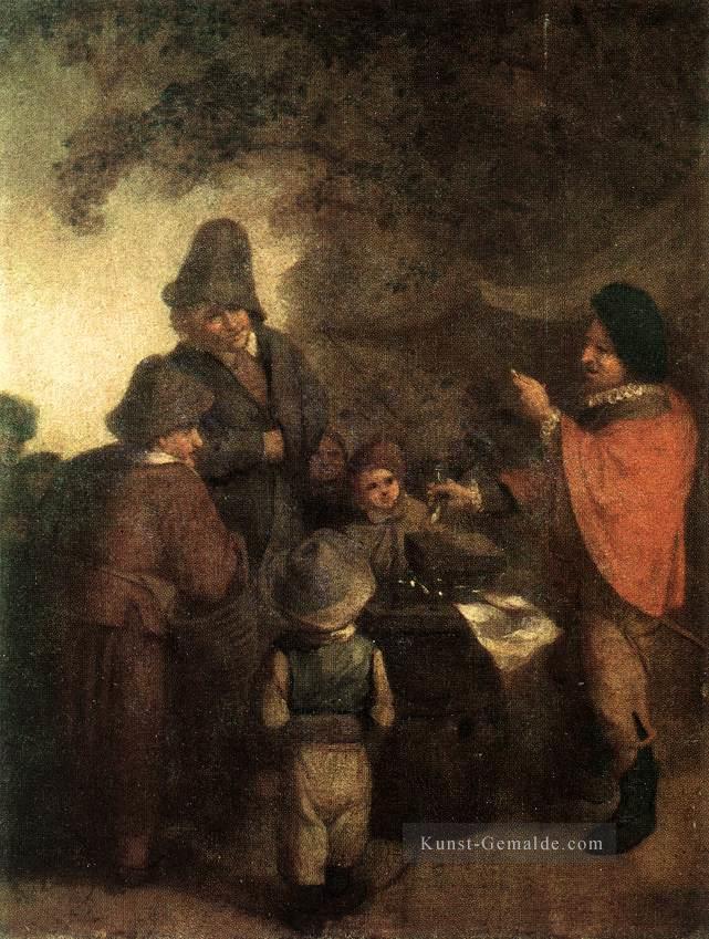 Genremalerei berühmt  Der Stall Keeper Holländischen Genremaler Adriaen van Ostade Gemälde ...