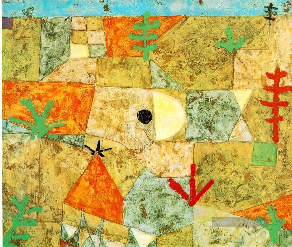 Landschaftsmalerei surrealismus  Southern Gardens Expressionismus Bauhaus Surrealismus Paul Klee ...