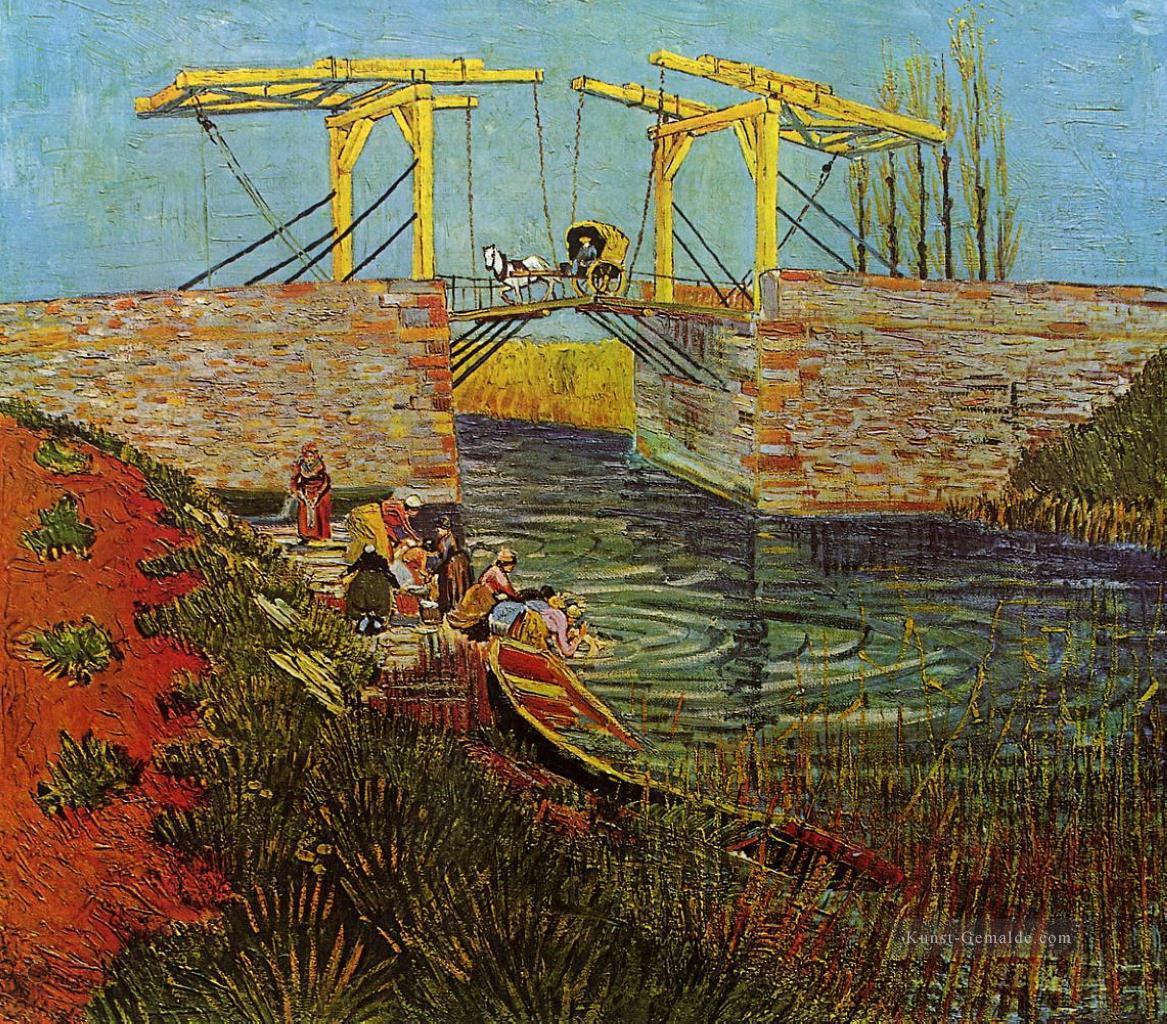 Die Brucke Von Langlois Bei Arles 3 Vincent Van Gogh Gemalde Mit Ol Zu Verkaufen