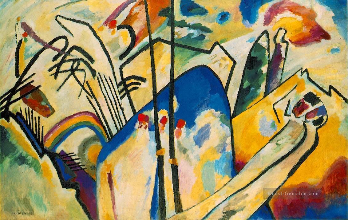 Kunst Gemälde komposition iv expressionismus kunst wassily kandinsky abstrakte