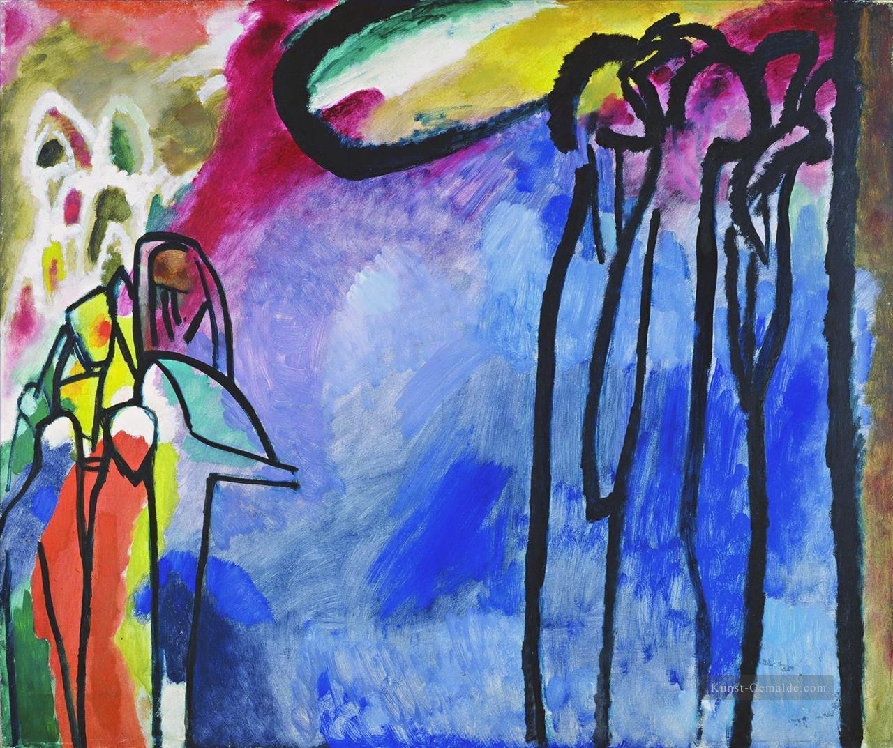 Improvisation 19 Wassily Kandinsky Gemälde Mit öl Zu Verkaufen