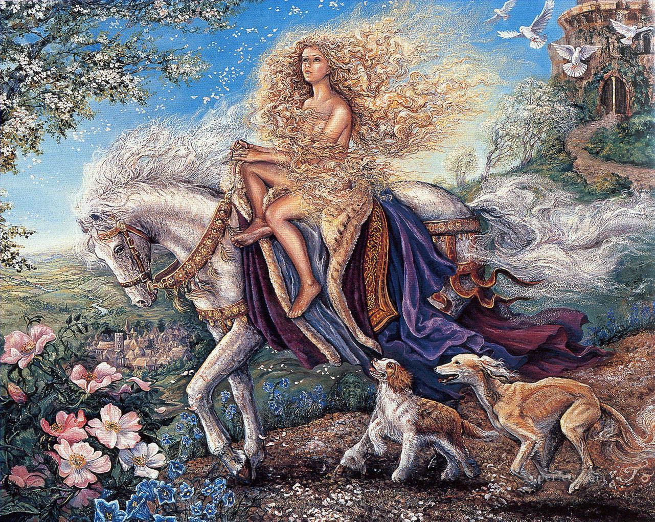 2fb1d30c86 JW Lady Godiva fantastische Gemälde mit öl zu verkaufen