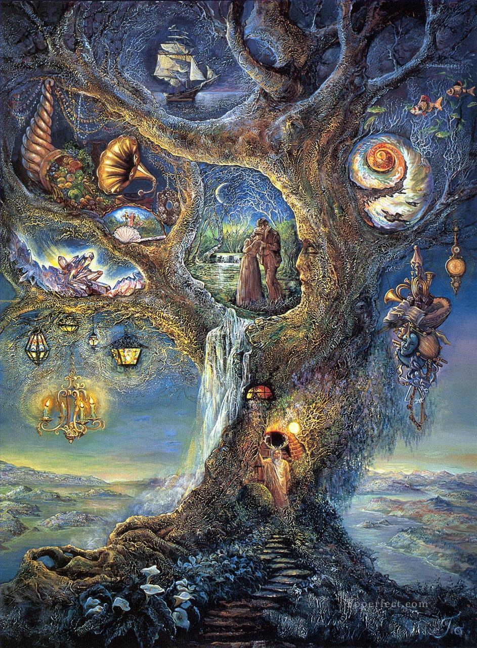 JW Baum Wunder Fantastischen Gemälde mit öl zu verkaufen
