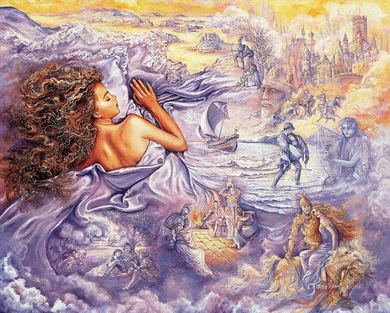 f7eaf28cfb JW lila Träume Fantasie Gemälde mit öl zu verkaufen