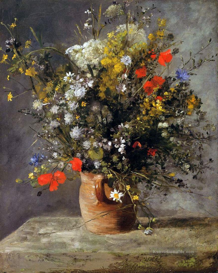 blumen in eine vase 1866 pierre auguste renoir gem lde mit. Black Bedroom Furniture Sets. Home Design Ideas