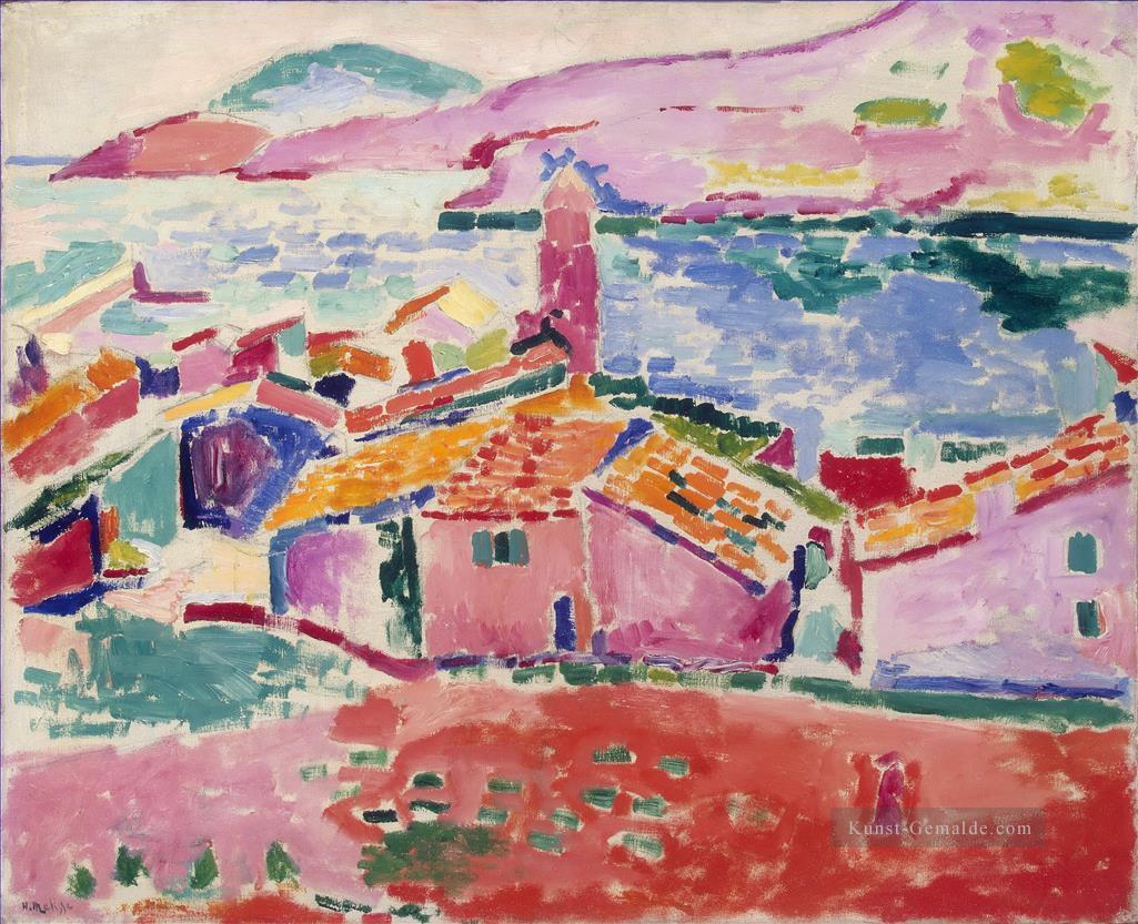 Blick auf Collioure 20 abstrakten Fauvismus Henri Matisse ...