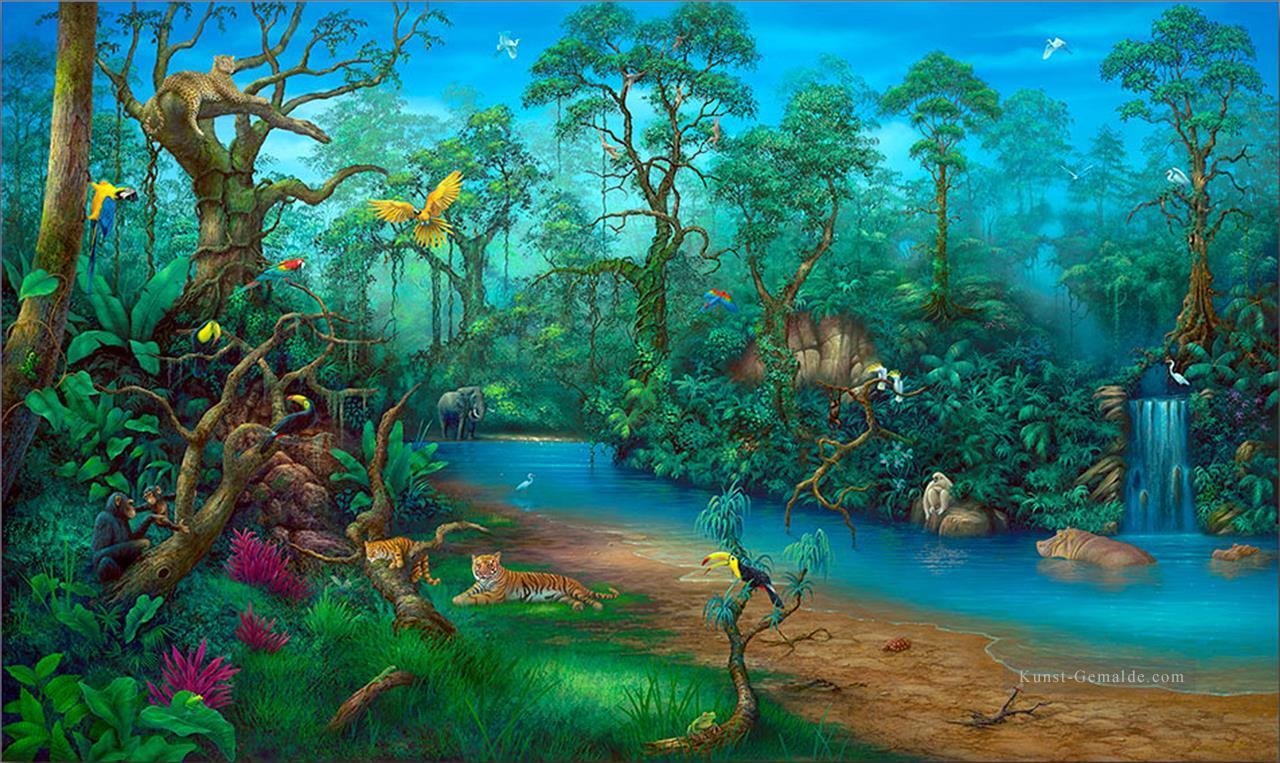 4d6d54efe0 Regenwald Regenwald Berge Gemälde mit öl zu verkaufen