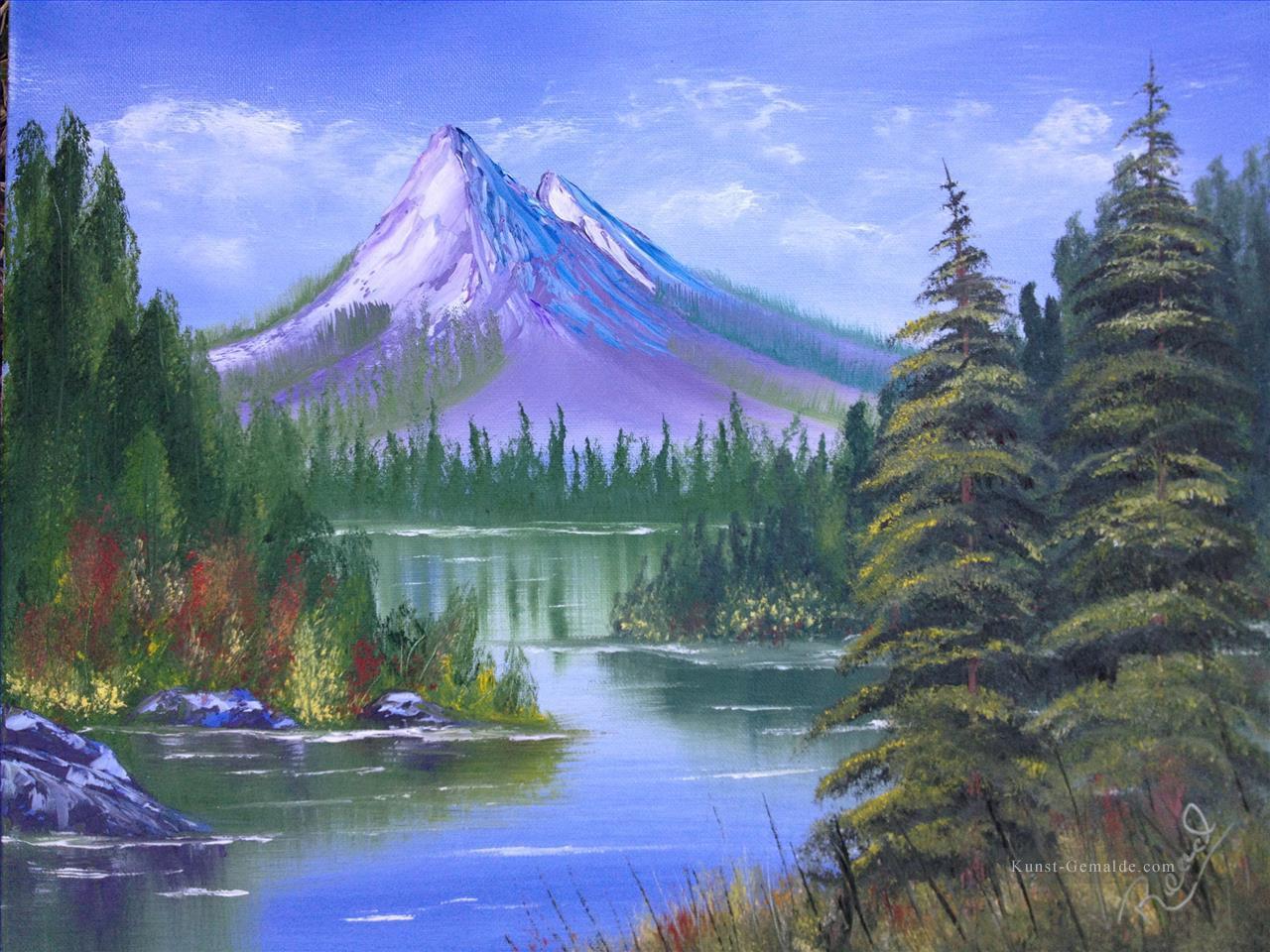 Gemälde Berge