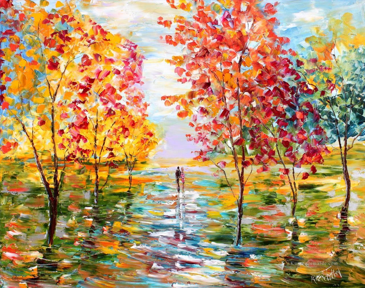 Herbst Romantik Landsape Wald Gemalde Mit Ol Zu Verkaufen