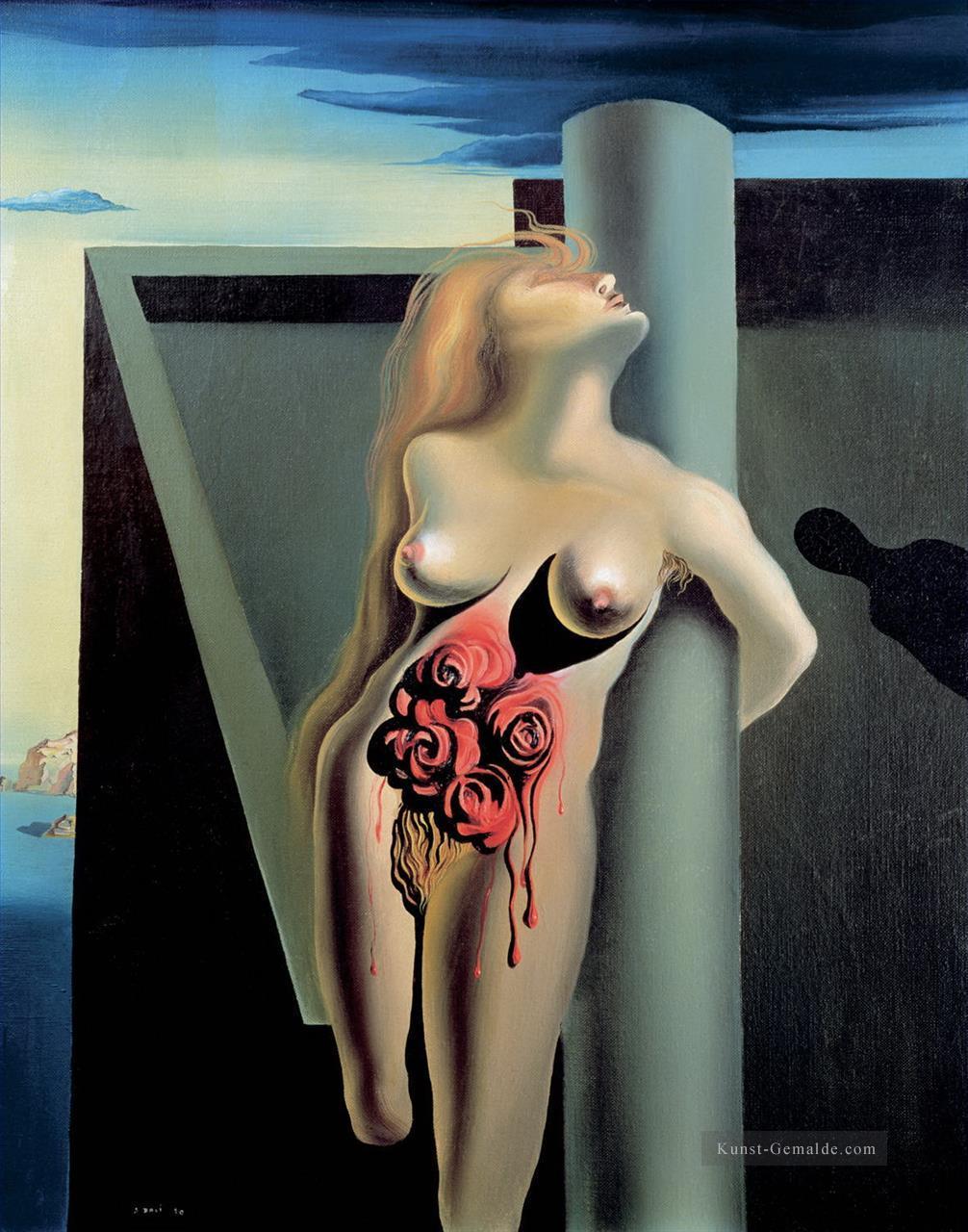 Akt der NacktmalereiLiebende schwarze Muschi