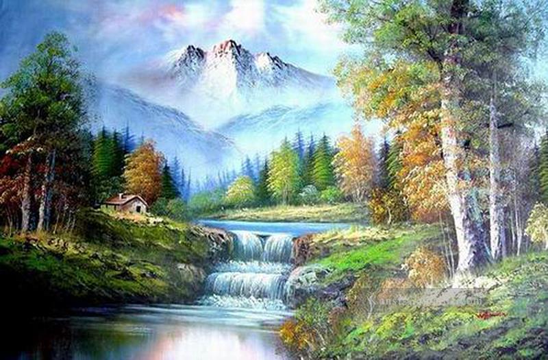 Waterfall Paintings In Oils