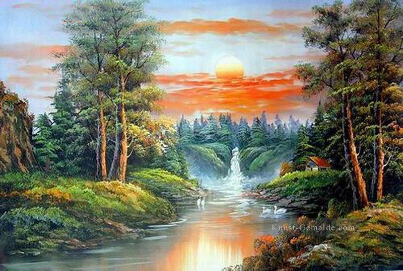 45703b3e12 Vivid Freehand 18 Bob Ross Landschaft Gemälde mit öl zu verkaufen